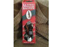 Famous miniature bagpipes