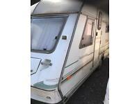 Abi ambassador touring caravan 1992 4 5 berth