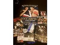 Ricky Hatton memorabilia