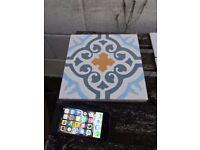 Beautiful Spanish hand-made encaustic tiles