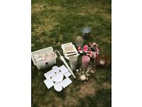 Wedding Decorations and Accessories - job lot