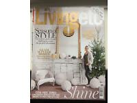 LIVING ETC MAGAZINES. 12 ISSUES. JAN - DEC 2015