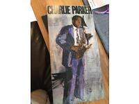 Charlie Parker- one night in bird land double vinyl