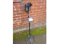 WWITES DFX DIGITAL MOION METAL DETECTOR WITH BOXED 15X12 SEF COIL
