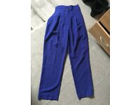 Vintage retro high waisted trousers size 8
