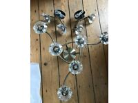Pendant & x2 Matching Wall Lights inc bulbs