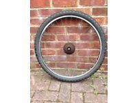 26 Inches Rear Aluminium Alloy Bike Wheel with Tyre