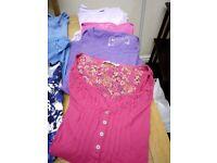 55b9ad5f3b875 Ladies Cotton Short sleeve  Long Sleeve Tops