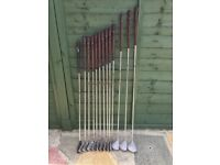 Full Set Golf Clubs - HB&S Aldridge Pinseeker