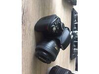 Nikon D3100, Nikon 35mm, Tamron 70-300mm, Tamron 10-24mm, Grad filters, Lowepro bag, Grad filters