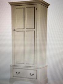 Laura Ashley Clifton One Door Wardrobe In Ivory