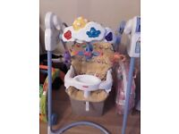 Fisher price flutterbye swing