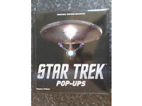 Star Trek Pop-ups Book (Hardback) Perfect Condition