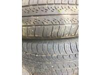 """14"""" tyre and rims ford 185 65 14"""
