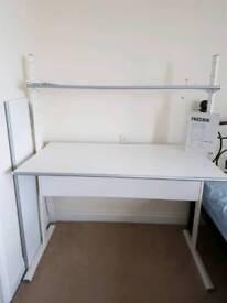 Ikea Fredrik White Desk. Excellent condition