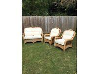 Conservatory furniture 3 piece suite