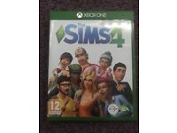 Sims 4 Xbox one. Good condition