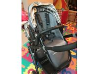 Uppababy Vista 2015 twin travel system, accessories & 2 car seats