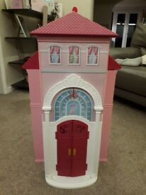 Barbie House and Barbie Wardrobe