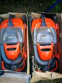 2 X Flymo Ultraglide mowers spares or repairs