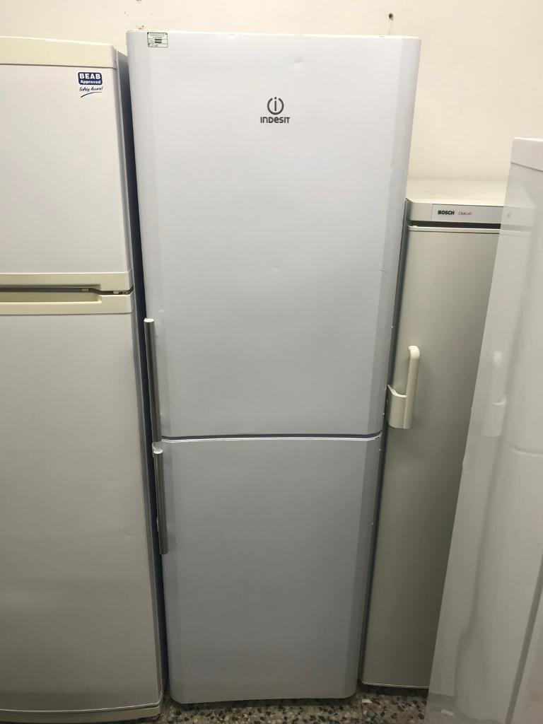 Indesit fridge freezer 4 month warranty free delivery thanks