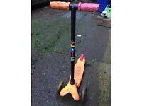 Mini micro scooter. Orange 🍊