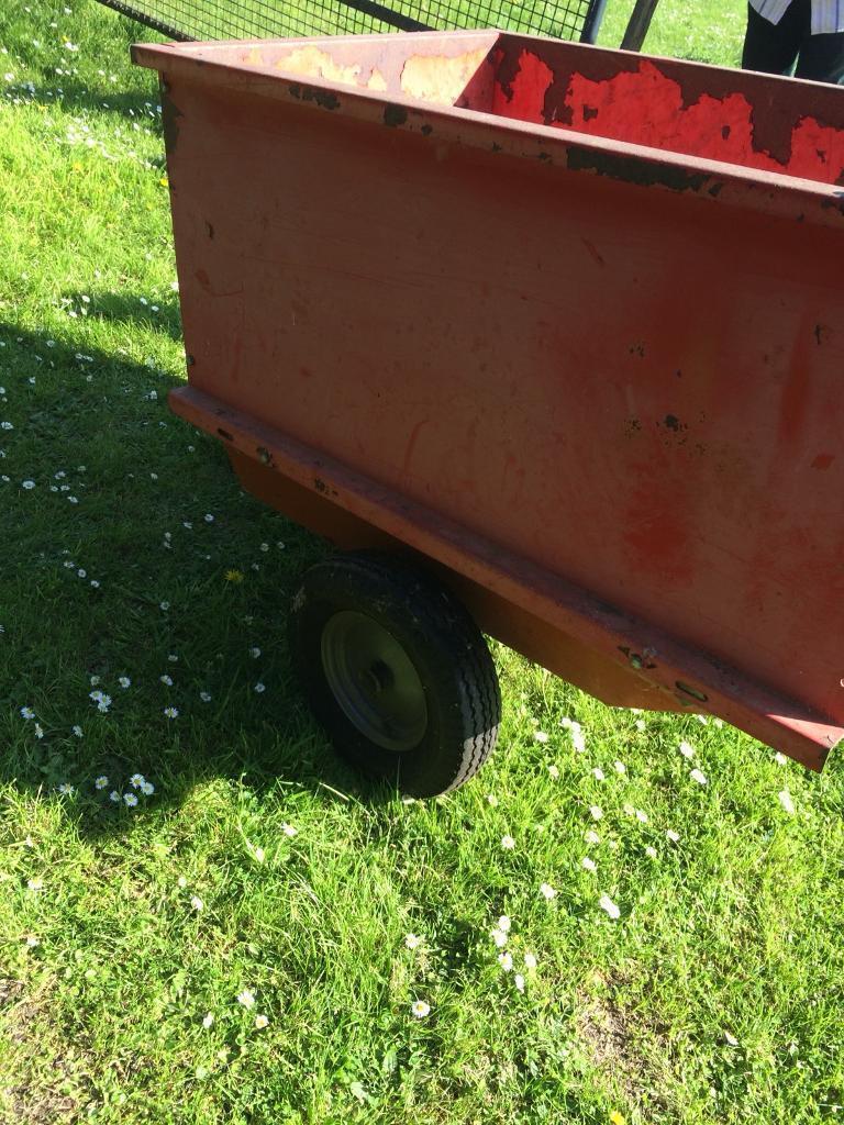 Garden trailer tipping tractor   in Kesgrave, Suffolk   Gumtree