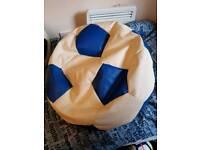 Football bean bags (x2)