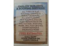 Builders▪ Roofing ▪Roofer ▪ Building