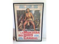 Vintage Original Movie Poster Ursula Andress
