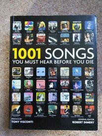 1001 Songs you must hear before you Die!