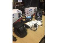 Jackson WF50 multiview clean air welding helmet with airmax papr system and grinding helmet
