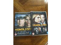HOMELAND - Complete Sets Of Series 1 & 2 - (8 DVDs / 24 Episodes)