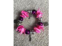 Gorgeous pink bracelet