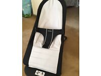 Baby Bjorn Bouncer. Black and Silver