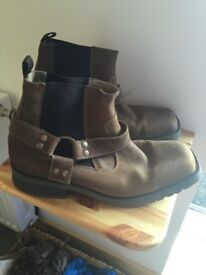 Mens next.. brown / tan ankle boot