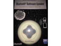 Bluetooth bathroom speaker