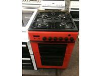 Red baumatic 50cm gas cooker grill @ oven good condition with guarantee