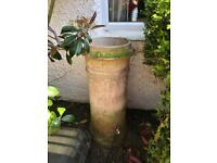 large chimney garden planter pot ornament wedding vintage prop