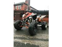 Yamaha raptor 700 fully road legal with v5 and mot
