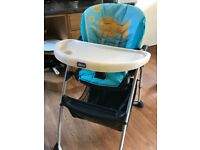 Chicco highchair - great condition