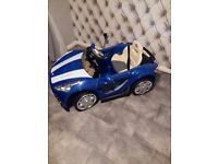 Childs battery operated car