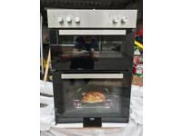 Beko integrated double oven