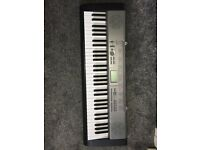 Casio 100 key light up keyboard for sale