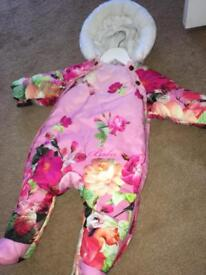 Ted Baker Snowsuit All In One 3-6 Months 🌸👶🏻🌺
