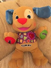 Fisher price laugh and learn puppy excellent condition