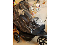 Phil and Teds Explorer double buggy, stroller, pram - Good condition - £150 ono