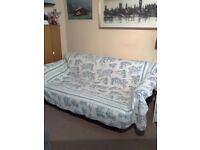 MOST BEAUTIFUL AND VERY COMFORTABLE SOFA BED - 3 SEATERS - TOP CONDITION -
