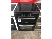 New / graded Leisure double Oven induction hob 60cm electric 12 month warranty