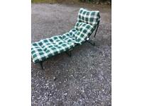 Put up camp bed /sun lounger